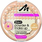 Manhattan CF 2in1 Powder & Make Up 77 1er Pack(1 x 11 grams)