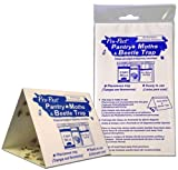 Pro-Pest Pantry Moth Traps - 6 Ready to Use Pre-baited Traps (3 Packs of 2 Traps)