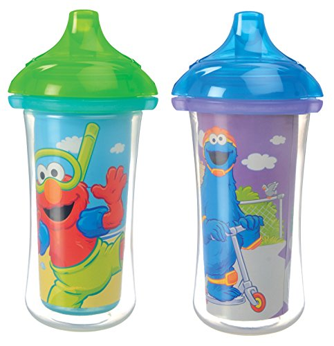 Sesame Street Click Lock Insulated Sippy Cup - 9oz (Colors/Styles May Vary) - 1