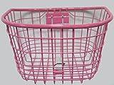 自転車カゴ / 子供/小径用ワイヤー前カゴ 20-24型用 ピンク / ピンク