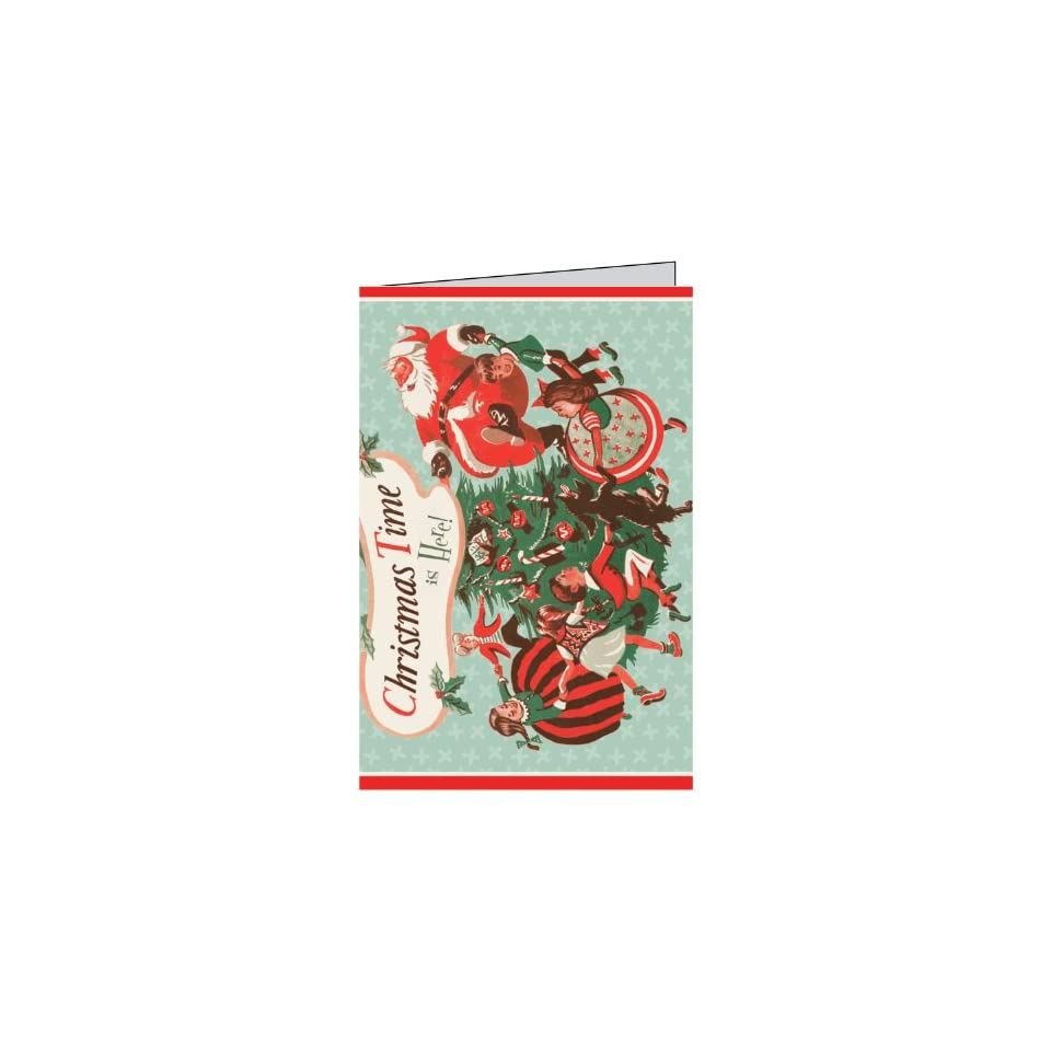 Jillson Roberts Recycled Christmas Self Adhesive Gift Tags, Christmas Time, 24 Count (XTA604)  Label Holders