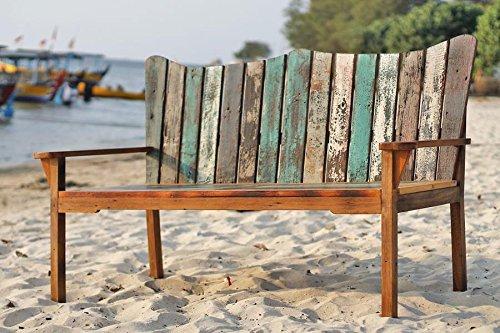 Outflexx Bank Fischboat, 150 x 75 x 110 cm, mehrfarbig jetzt bestellen