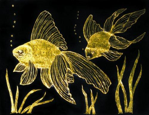 Melissa & Doug Scratch Art Paper - Gold & Silver Foil w/Stylus (10 sheets)