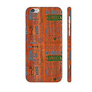 Apple IPhone 6 Plus Barbeque Nation designer mobile hard shell case by Enthopia