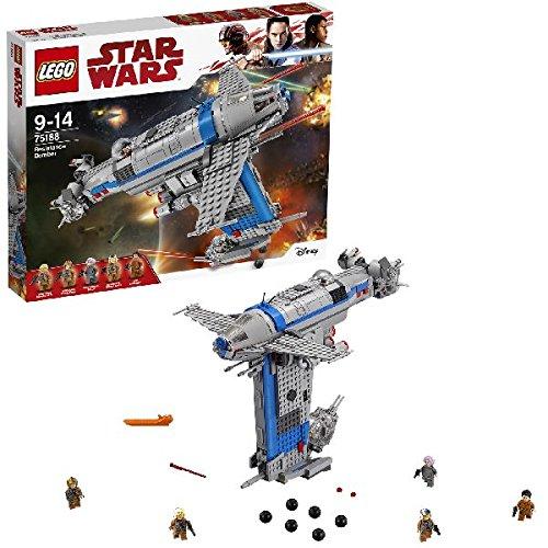 LEGO - 75188 - Star Wars - Jeu de construction - Resistance Bomber