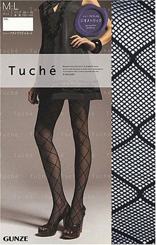 faf526e24 Leggings Fashion Trends  Gunze Women s Tuche Diamond Shape Fishnet ...