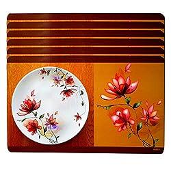 Decor Club Table Placemat Multicolor Reversible