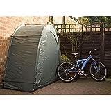Trueshopping Abri extérieur/tente pour vélo ou scooter Résistant aux intempéries Vert