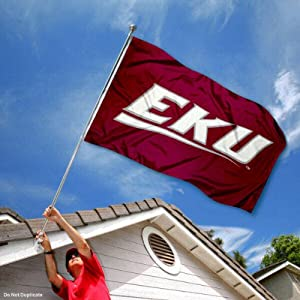 EKU Eastern Kentucky Colonels University Large College Flag