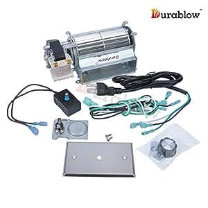 Durablow Gfk21 Fk21 Replacement Fireplace Blower Fan Kit For Heatilator Majestic