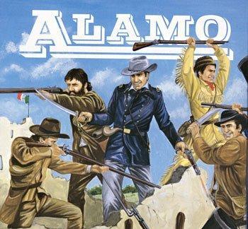 Texan Figures Alamo American History Figures Set 1/72 Imex - 1