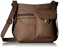 Rosetti Triple Play Rudy Cross Body Bag
