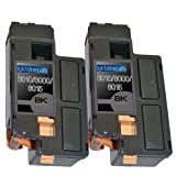 2 New Remanufactured 106R01630 Xerox 6010 Black Toner Cartridges