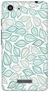 The Racoon Grip Leafiness hard plastic printed back case/cover for Micromax Unite 3