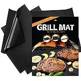 Ankway BBQ Grill Mat, Fiberglass Fabric Nonstick Barbecue Mat (2pcs 16