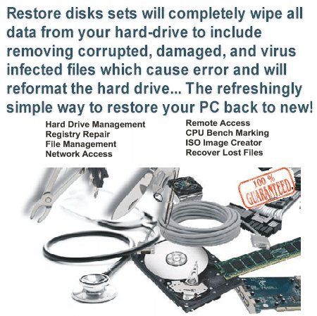 Windows 7 & Xp Sp3 Home System Restore + Boot Up front-781346