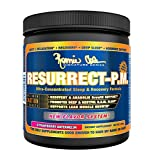 Ronnie Coleman Signature Series Resurrect-PM, Deep Restful Sleep and Anabolic Muscle Building Recovery Formula, Promotes Lean Muscle Growth and REM Sleep, Strawberry Watermelon, 200 Gram