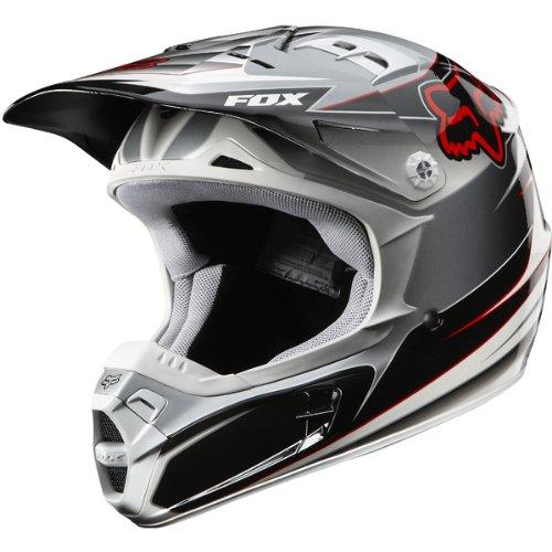 Bell Full Face Helmet >> Fox Racing Race Men's V2 MX/Off-Road/Dirt Bike Motorcycle Helmet – Black / Large | Motorcycle ...