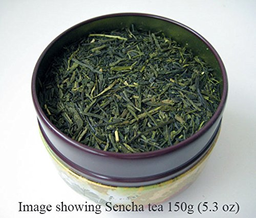 Japanese Tea Canister Suzuko - Flower (Green) 6