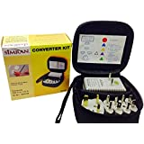Simran SM-1875KIT International Worldwide Travel Kit with 5 Adapters, 1875-Watt Voltage Converter and Pouch