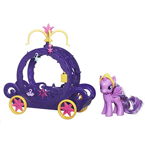 My Little Pony Cutie Mark Magic Princess Twilight Sparkle Charm Carriage Playset (Cutie Pie Dolls compare prices)