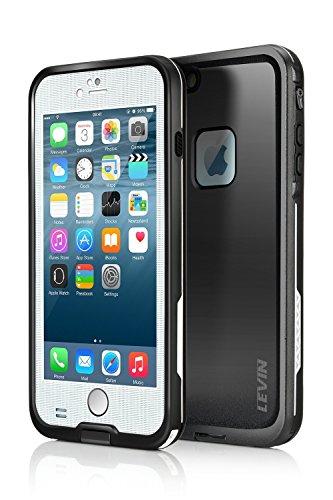 iPhone6 plus 防水ケース 手帳型 ジャケット スマホ カバー 耐衝撃 耐震 新シリーズ (iphone6 plus, ホワイト) [並行輸入品]