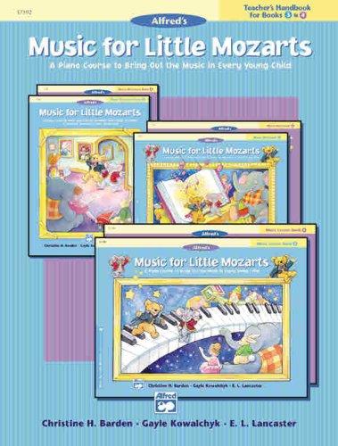 Music for Little Mozarts: Teacher's Handbook