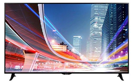 "MEDION LIFE X18081 MD 31185 138,8cm 55"" Zoll Smart TV, 4K Ultra HD, HD Triple Tuner DVB-S2 DVB-C DVB-T2, 1200MPI, Netflix App, WLAN, HbbTV, PVR, EEK:A+, schwarz"
