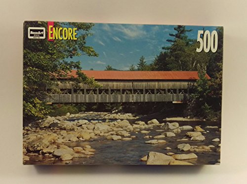 ROSEART Encore Albany Covered Bridge Jigsaw Puzzle 500 pieces