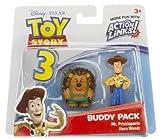 Mr. Pricklepants & Hero Woody: Toy Story 3 Action Links Mini-Figure Buddy Pack