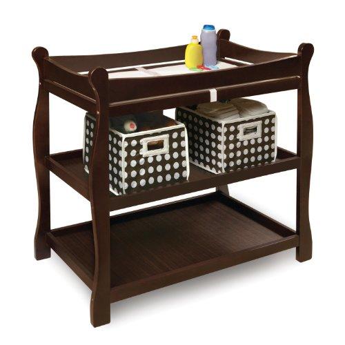 Imagen de Badger Basket Sleigh Cambiar el estilo de la tabla, café express