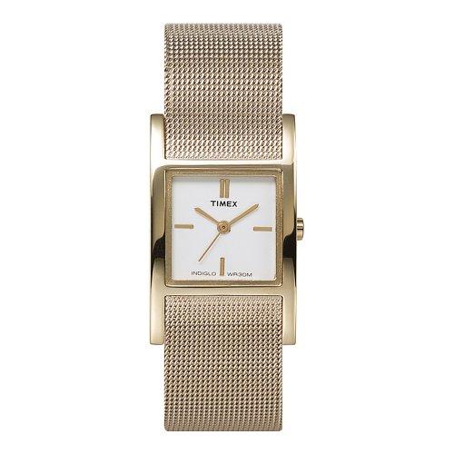 Timex Ladies Mesh Bracelet Watch - T2J921PF