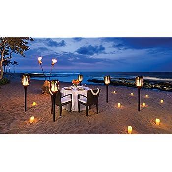 Torches Light Outdoor Waterproof Dancing Flame Lighting