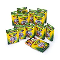 Crayola Ultra Clean Large Crayons (Pack of 12, 16-Count)