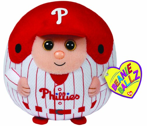 Ty Beanie Ballz Mlb Philadelphia Phillies Plush front-468745