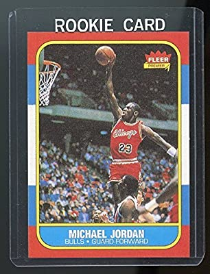 1986-87 Fleer #57 Michael Jordan Chicago Bulls Rookie REPRINT Card