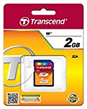 Transcend 2 GB SD Flash Memory Card (TS2GSDC)