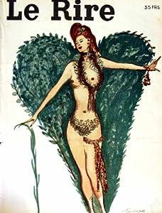 Impresión Antigua de la Revista Francesa Desnuda del Humor de Señora Le Rire (la Risa)