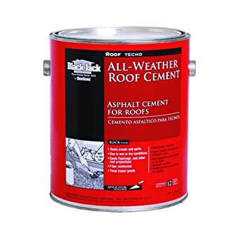 black jack all weather roof cement instructions