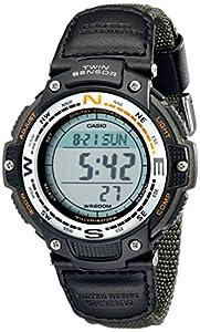 Casio Men's SGW100B-3V Digital Compass Twin Sensor Sport Watch