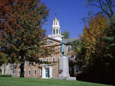 Exterior of Griffin Hall, Williamstown, Massachusetts