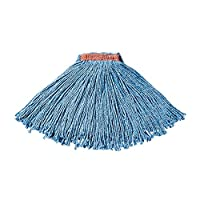 Rubbermaid Commercial Dura Pro Blend Cut End Mop, Blue, 1-Inch, Pack of 12, FGF51600BL00 by Rubbermaid Commercial Products