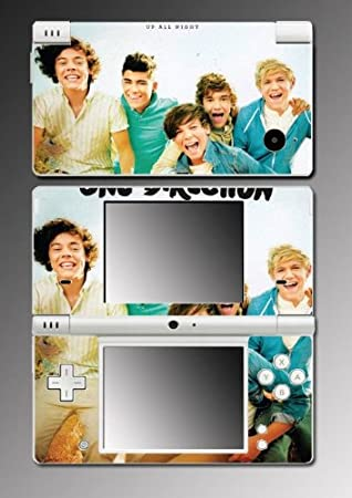 One Direction Louis Zayn Niall Liam Game Vinyl Decal Cover Mod Skin Protector 33 for Nintendo DSi