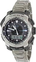 Casio Protrek Triple Sensor Solar Power Titanium Watch PRG-510T-7