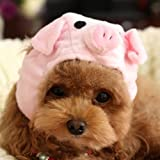 Alfie Pet By Petoga Couture - Qeno Pig Hat Party Costume (for Small Dogs & Cats) - Color: Pink, Size: Medium