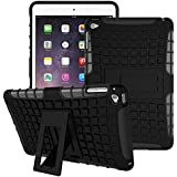 For Apple IPad Air 1 / IPad Air 2 Back Cover Back Case (Smart Dual Armor With KiCK-STAND) Shock Proof Defender Hybrid High Impact Shock Absorber Armor Defender Back Case Back Cover For Apple IPad Air 1 / Apple IPad Air 2 Back Cover Back Case Cases & C