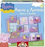 Peppa Pig - Asocio y aprendo, juego educativo (Educa Borras 15654)