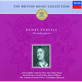 Purcell: The Indian Queen, Z. 630 - ed A. Pinnock, M. Laurie - Act 2 - What Flatt'ring Noise Is This?