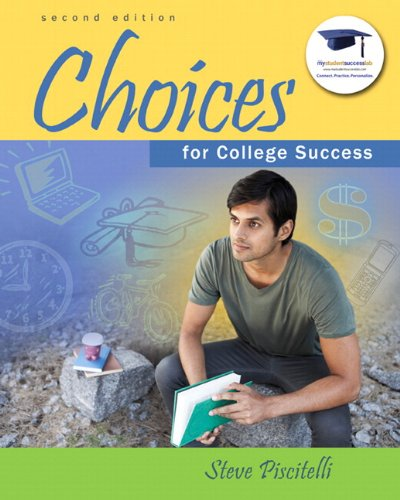 Choices for College Success Plus NEW MyStudentSuccessLab  Update -- Access Card Package (2nd Edition)