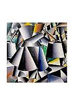Especial Arte Lienzo Astratto - Kazimir Malevich Multicolor